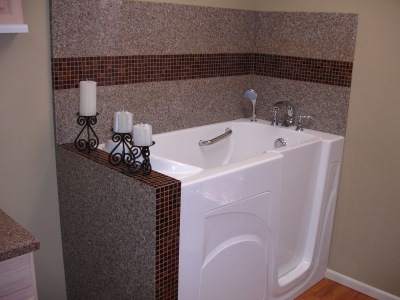 Walk in bathtub installation by Independent Home Products, LLC