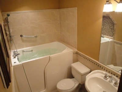 Independent Home Products, LLC installs hydrotherapy walk in tubs in Columbus