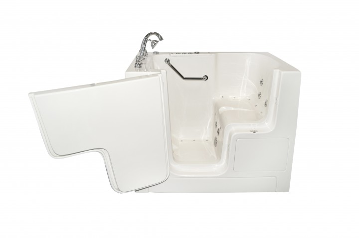 Components of the walk in bathtubs